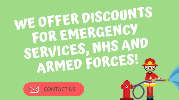 WE OFFER DISCOUNTS FOR EMERGENCY SERVICE, NHS AND ARMED FORCES (2)